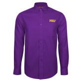 Red House Purple Long Sleeve Shirt-HSU