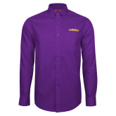 Red House Purple Long Sleeve Shirt-Hardin-Simmons Cowgirls
