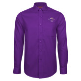 Red House Purple Long Sleeve Shirt-Cowgirl Riding