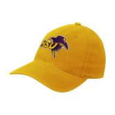 Gold OttoFlex Unstructured Low Profile Hat-HSU Cowboy