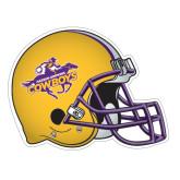 Football Helmet Magnet-HSU