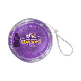Light Up Purple YoYo-Primary Logo