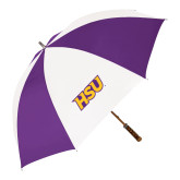 64 Inch Purple/White Umbrella-HSU