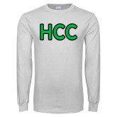 White Long Sleeve T Shirt-HCC