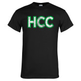 Black T Shirt-HCC Distressed