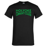 Black T Shirt-Holyoke Community College