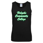 Black Tank Top-Holyoke Community College Script
