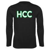Performance Black Longsleeve Shirt-HCC