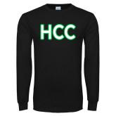 Black Long Sleeve T Shirt-HCC