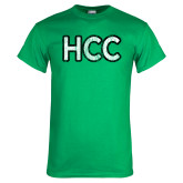 Kelly Green T Shirt-HCC Distressed