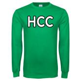 Kelly Green Long Sleeve T Shirt-HCC