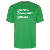 Performance Kelly Green Tee-Institutional Logo