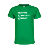 Youth Kelly Green T Shirt-Institutional Logo