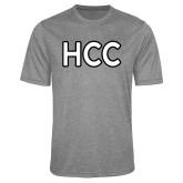 Performance Grey Heather Contender Tee-HCC