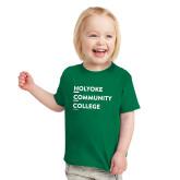 Toddler Kelly Green T Shirt-Institutional Logo