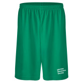 Performance Classic Kelly Green 9 Inch Short-Institutional Logo