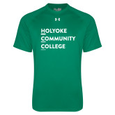 Under Armour Kelly Green Tech Tee-Institutional Logo