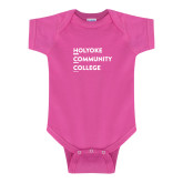 Fuchsia Infant Onesie-Institutional Logo