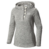 Columbia Ladies Darling Days Sea Salt Pullover-Institutional Logo
