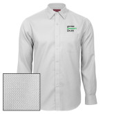 Red House White Diamond Dobby Long Sleeve Shirt-Institutional Logo