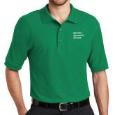 Kelly Green Easycare Pique Polo-Institutional Logo