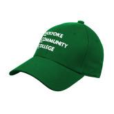 Kelly Green Heavyweight Twill Pro Style Hat-Institutional Logo