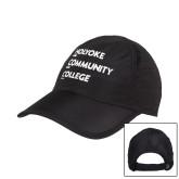 Black Performance Cap-Institutional Logo