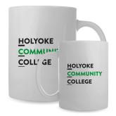 Full Color White Mug 15oz-Institutional Logo