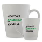 Full Color Latte Mug 12oz-Institutional Logo