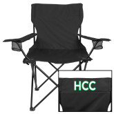 Deluxe Black Captains Chair-HCC