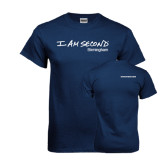 Navy T Shirt-, Birmingham