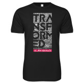 Next Level SoftStyle Black T Shirt-Transformed