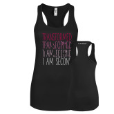 Next Level Ladies Black Ideal Racerback Tank-Transformed