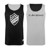 Black/White Reversible Tank-