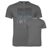 Next Level Premium Heather Tri Blend Crew-Transformed