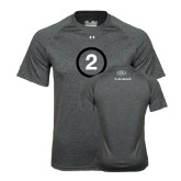 Under Armour Carbon Heather Tech Tee-2 Inside Circle