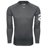 Under Armour Carbon Heather Long Sleeve Tech Tee-2 I Am Second