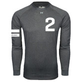 Under Armour Carbon Heather Long Sleeve Tech Tee-2