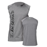 Under Armour Heather Grey Tech SL Tee-Signature