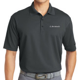 Nike Golf Dri Fit Charcoal Micro Pique Polo-