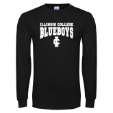 Black Long Sleeve T Shirt-Blueboys
