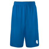 Performance Classic Royal 9 Inch Short-IC Athletic Logo