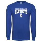 Royal Long Sleeve T Shirt-Blueboys