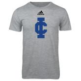 Adidas Sport Grey Logo T Shirt-IC Athletic Logo