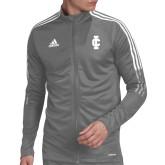 Adidas Grey Tiro 19 Training Jacket-IC Athletic Logo