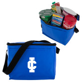 Six Pack Royal Cooler-IC Athletic Logo
