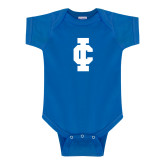 Royal Infant Onesie-IC Athletic Logo