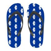 Full Color Flip Flops-IC Athletic Logo