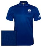 Adidas Climalite Royal Grind Polo-Collegiate Logo Vertical