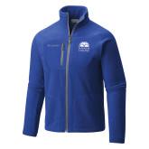 Columbia Full Zip Royal Fleece Jacket-Collegiate Logo Vertical